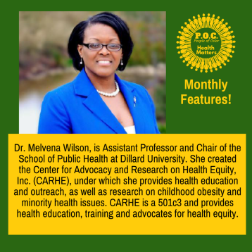 POCHM Monthly Features_Melvena Wilson